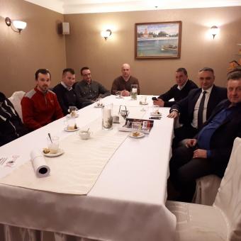Zebranie Zarządu Klubu